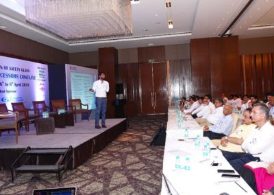 Addressing Annual Processors Conclave 2019 organised by FOSG at Hotel Hyatt Recency, Amritsar.