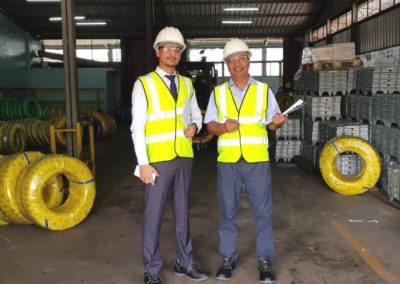 BIS Audit at Steel Wire Manufacturer in Srilanka