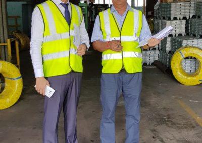 BIS Audit at Steel Wire Manufacturer in Srilanka